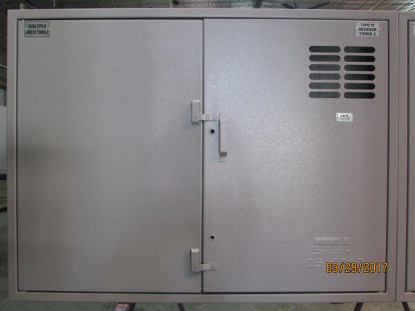 Caixa De Medição Agrupada Tipo M (08 Medidores – Interna)