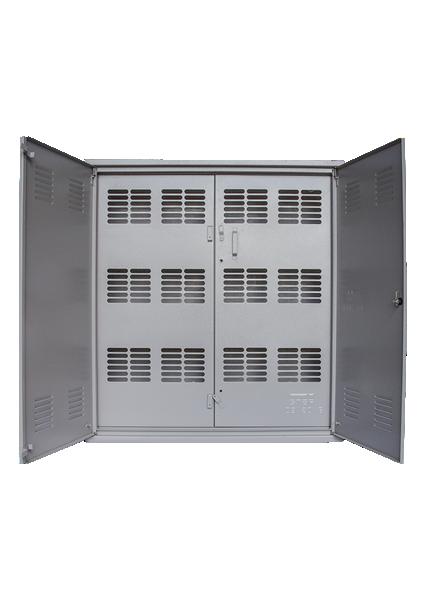 Caixa de Medição Agrupada Tipo N (12 Medidores – Externa) - Starmetal – Eletrometalúrgica