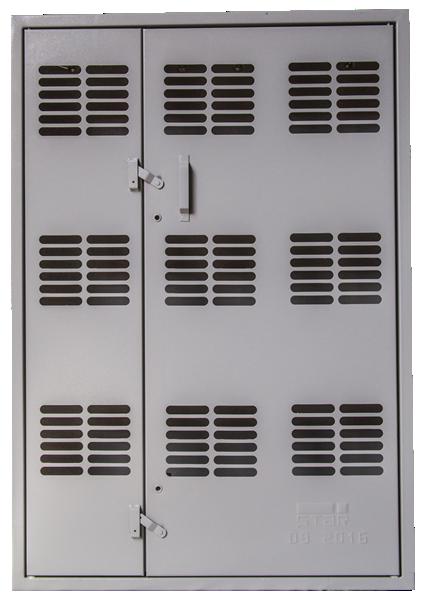 Caixa de Medição Agrupada Tipo P (Interna – 09 medidores)