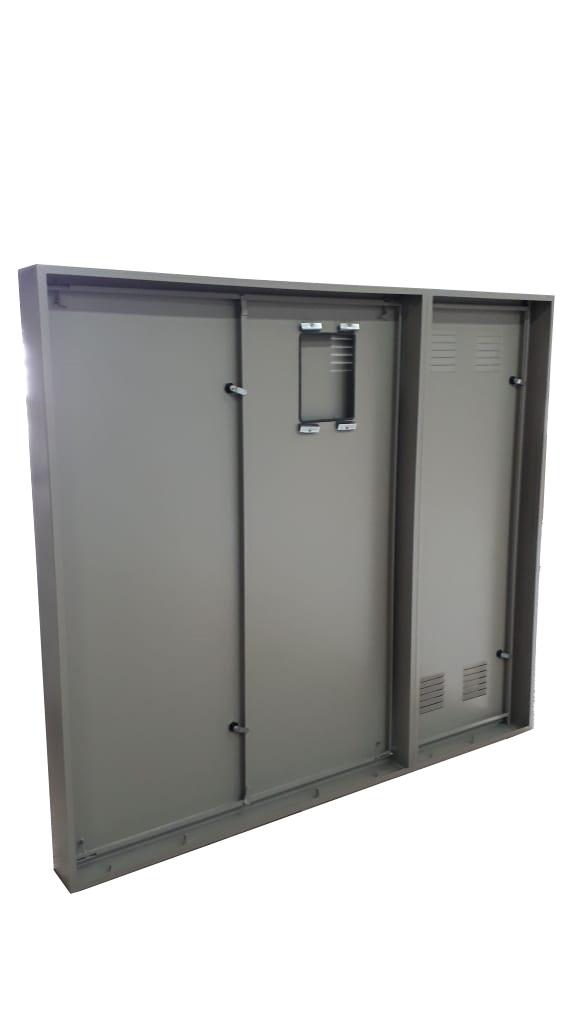 Porta e Requadro Caixa de Medição Urbana - Starmetal – Eletrometalúrgica