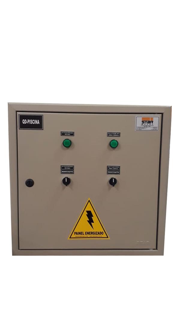 Quadro de Distribuição Controle de Piscina - Starmetal – Eletrometalúrgica