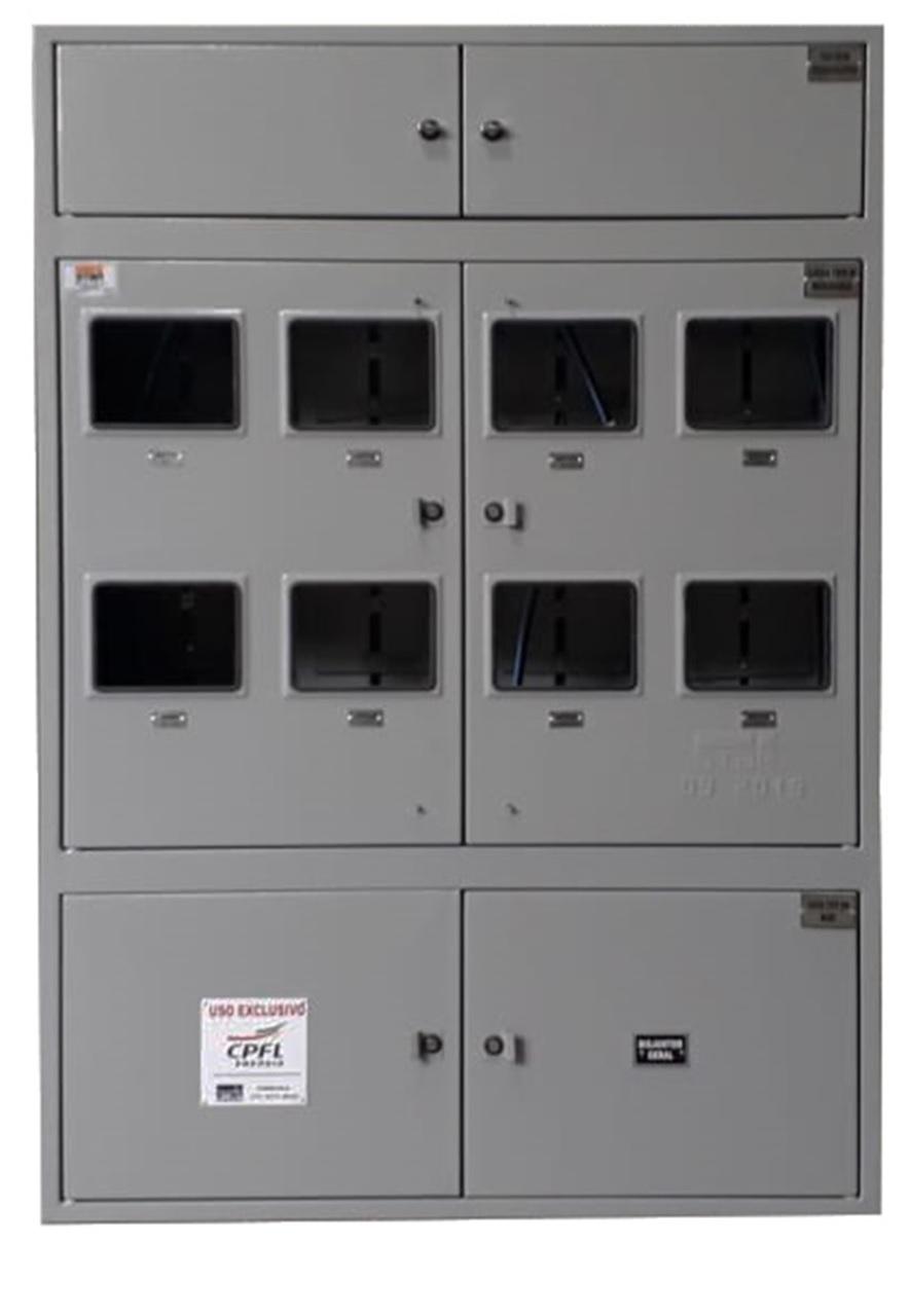 Caixa Tipo M 8 Medidores Padrão CPFL - Starmetal – Eletrometalúrgica