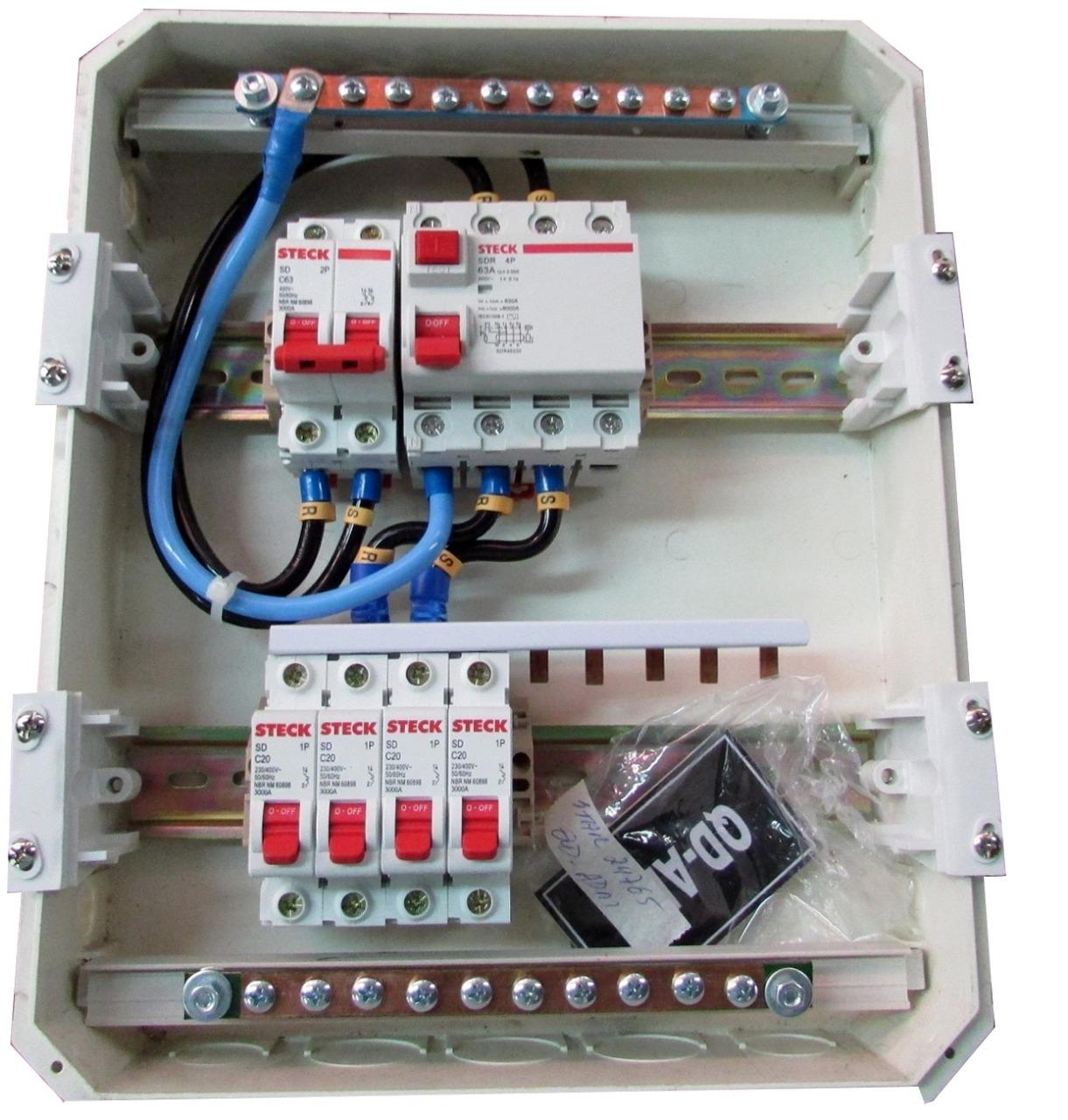 Quadro de Distribuição em PVC - Starmetal – Eletrometalúrgica