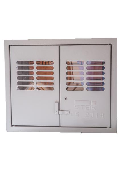 Caixa De Medição Agrupada Tipo K (02 Medidores) – Interna ENEL