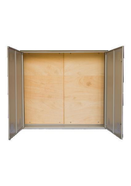 Caixa de Medição Rural/ Urbana – CPFL (Vazia) - Starmetal – Eletrometalúrgica