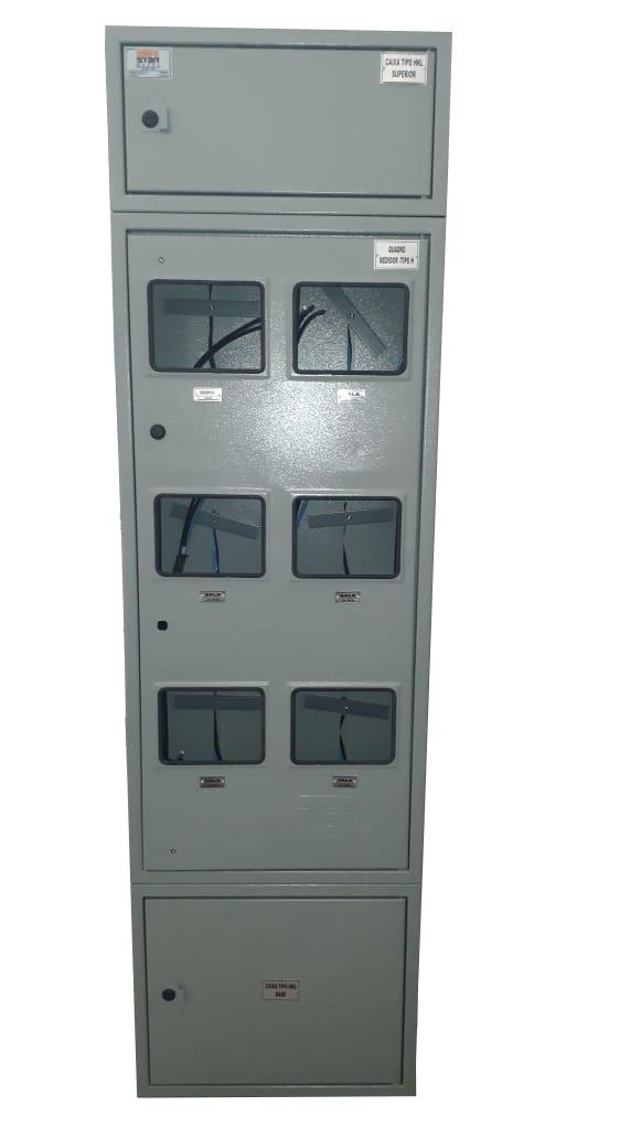 Caixa Tipo H 6 Medidores CPFL - Starmetal – Eletrometalúrgica