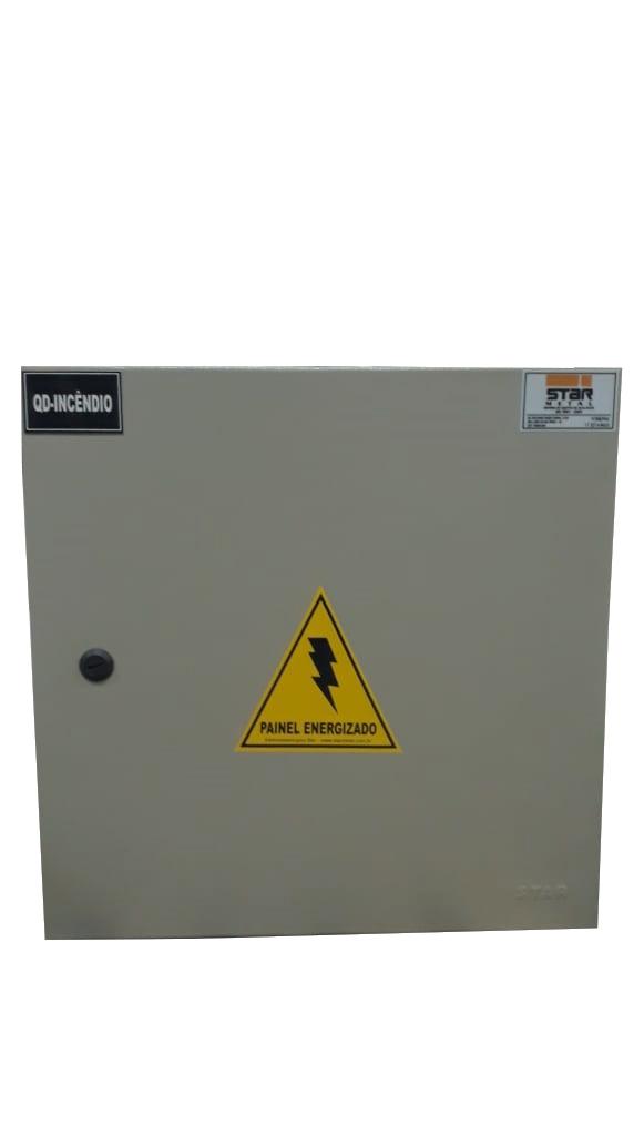 Quadro de Distribuição para Sistema de Incêndio - Starmetal – Eletrometalúrgica